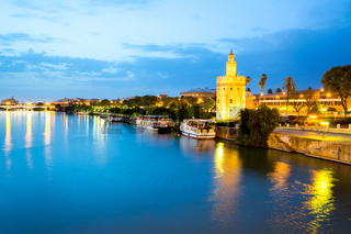 Golden Tower Seville Spain