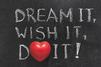 dream,wish,do heart