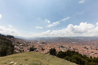 Cuzco from  above