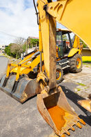 Panama Boquete earth moving machines