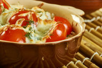 Barley Gratin with Roasted Cherry Tomatoes