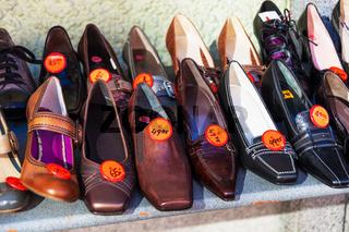 ein Schuhgeschäft