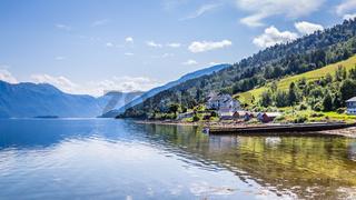 Village Eidsora in Norway