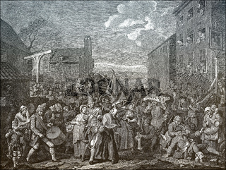 The March of the Guards to Finchley, 1750, William Hogarth