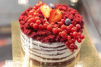 Mix Berry Cake