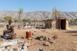 Namibia, Africa. Opuwo, Kaokoland