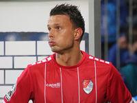 kroatischer Fussballer Petar Sliskovic Türkgücü München DFB 3.Liga Saison 2020-21
