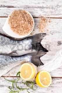 Luxurious mediterranean seafood background.