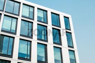 real estate facade, modern office building