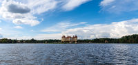 panorama view of the Moritzburg Castle in Saxony