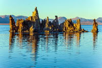 Picturesque Mono lake