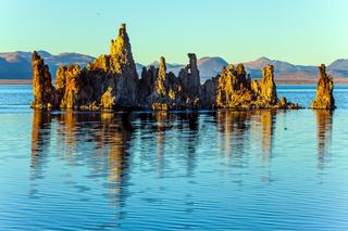 Picturesque Mono lake