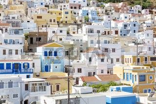 Das Dorf 'Menetes' auf Karpathos, Griechenland
