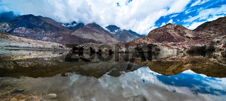 Tso Yarab lake. India, Ladakh