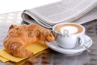 Croissantfrühstück
