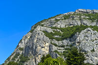 Gipfelpartie des Saleve Bergmassivs