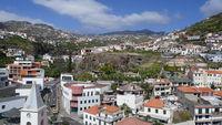 Madeira, Camara de Lobos mit Hinterland