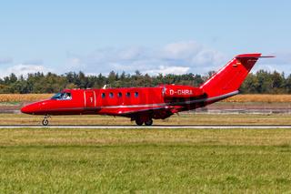 E-Aviation Cessna 525C CitationJet 4 Flugzeug Flughafen Stuttgart