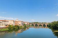 Old bridge in Montauban