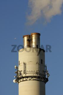 Schornstein Müllverbrennungsanlage Stellingen