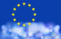europa blau vielfalt abstrakt lichter
