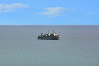 Military Degaussing Ship