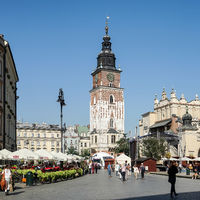 Town Hall Tower Market Square in Krakow