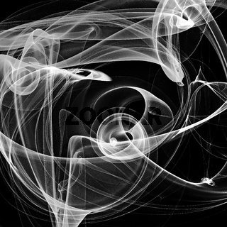 Abstract black and white background