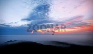 Nebelmorgen im Lake-Mburo-Nationalpark Uganda | Morning fog at Lake Mburo National Park Uganda