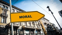 Street Sign to Moral