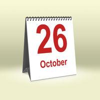October 26th | 26.Oktober