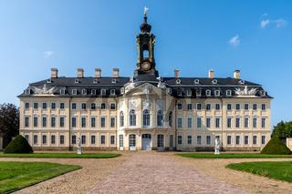 the Hubertusburg Castle in Saxony
