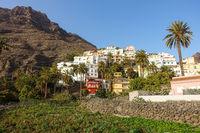 Valle Gran Rey auf er Insel La Gomera