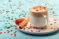 Popular Korean drink dalgon coffee.