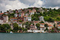 Houses at Bosphorus Strait in Istanbul