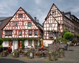 Market Square, Zeltingen, Germany