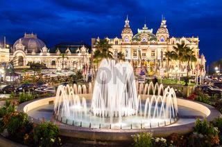 Casino of Monte Carlo.