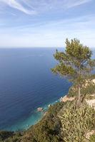 Landschaft an der Nordwest-Küste von Mallorca