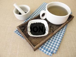 Eine Tasse Schwarzkümmeltee – Tee mit Schwarzkümmel