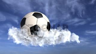 Football Cloud Sky