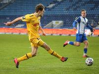 deutscher Fußballer Gino Fechner KFC Uerdingen 05  DFB 3.Liga Saison 2020-21