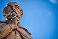 Vicenza, Italy - March 19, 2019 - Statue of Andrea Palladio