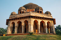Muhammad Shah Sayyid Tomb at Lodhi Garden in Delhi, India