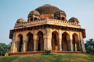 Muhammad Shah Sayyid Tomb at Lodhi Garden in Delhi, India