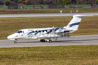 Jetstream Air Cessna 650 Citation III Flugzeug Flughafen München in Deutschland