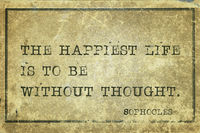 happiest life Sophocles