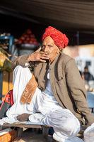 Portrait of a Rajasthani Man