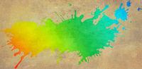 kleckse grafik farben bunt huntergrund