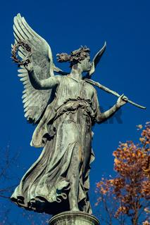 Statue of an angel at Charlottenburg Palace garden