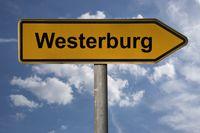 Wegweiser Westerburg | signpost Westerburg